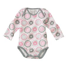 Zinnia Rose Long Sleeve Bodysuit