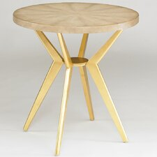 Odin Side Table in Ivory Shagreen