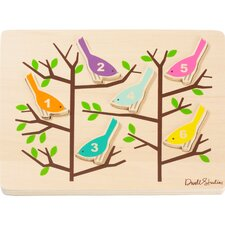 Counting Birds Wooden Puzzle - SOLD OUT