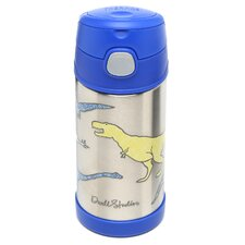 Dinosaur 12 oz Funtainer Straw Bottle