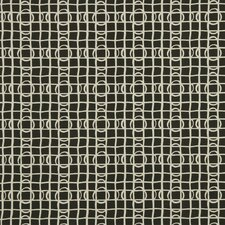 Lattice Graph Fabric - Ink