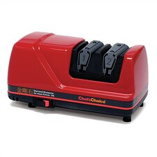 Diamond Electric Knife Sharpener for Asian Knives in Red