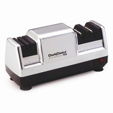 Diamond Hone Deluxe M100 Knife Sharpener in Platinum