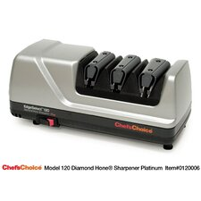 Diamond Hone EdgeSelect Plus Knife Sharpener - Platinum