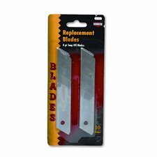 Snap Blade Utility Knife Replacement Blades, 10 per Pack