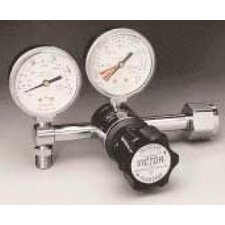"VMG-15LN 2-15 LPM CGA 540 Nut And Stem Diaphragm Style Pediatric Flowgauge Medical Regulator With 2"" Gauges"