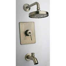Morellino Diverter Tub and Shower Faucet Set