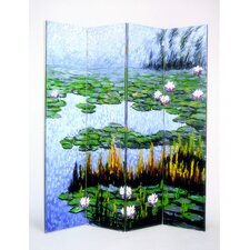 Lily Pads in a Pond Room Divider