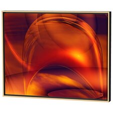 Orange Bubble Limited Edition Framed Canvas - Scott J. Menaul