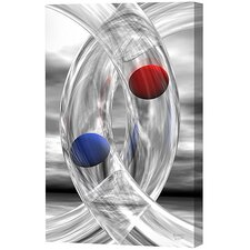 Glass Rings and Spheres Limited Edition Canvas - Scott J. Menaul
