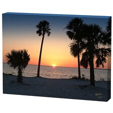Sunset Trees Limited Edition Canvas - Scott J. Menaul