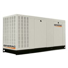 80 Kw Liquid-Cooled Three Phase 277/480 V Propane Standby Generator with CSA, and EPA Compliance in Aluminum