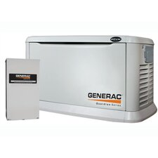 20 Kw Air-Cooled 200 Amp Single Phase 120/240 V Generator with Automatic Transfer Switch in Aluminum