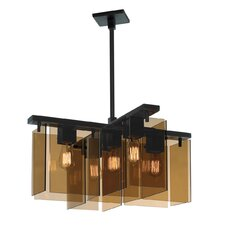 5 Light Foyer Pendant