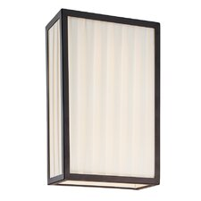 Piega Vertical 2 Light Wall Sconce