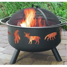Big Sky Wildlife Fire Pit