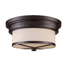 Flush Mount 2 Light