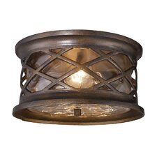 Barrington Gate 2 Light Outdoor Flush Mount