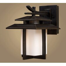 Kanso 1 Light Outdoor Wall Lantern