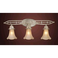 Trump Home Central Park Chelsea 3 Light Vanity Light
