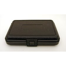 Blow Molded Case in Black: 6.5 x 9.5 x 2