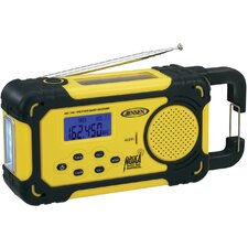 AM / FM Weather Band Radio with Weather Alert