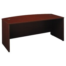 "Series C: 29.88"" Bow Front Desk"
