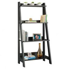 Alamosa Ladder Bookcase in Classic Black