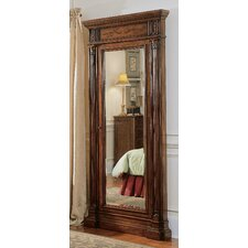 Seven Seas Floor Mirror with Jewelry Armoire