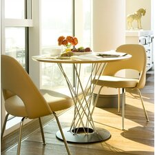 Noguchi Cyclone™ 3 Piece Dining Table with Saarinen Executive Chairs
