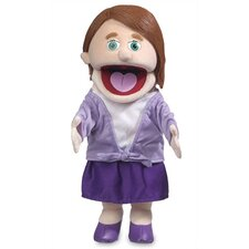 "14"" Sarah Glove Puppet in Peach"