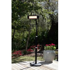 Electric Patio Heater with Glass Front
