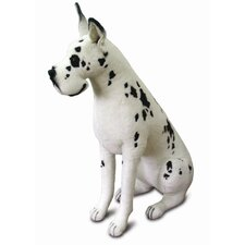 Life Size Great Dane Harlequin Dog Stuffed Animal