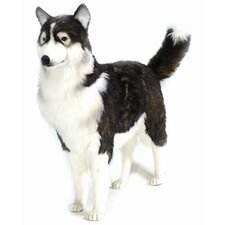 Life Size Husky Dog Stuffed Animal