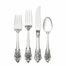 Grande Baroque 4 Piece Flatware Set