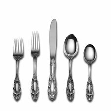 Sterling Silver Grande Duchess 46 Piece Flatware and Serving Set