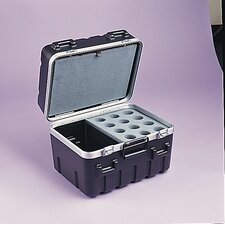 "ATA Style Utility Case in Black: 12.75"" H x 13.13"" D (Interior)"