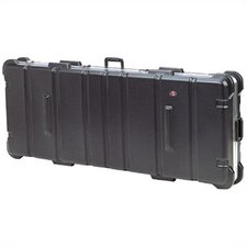 "Low Profile ATA Case:  8 7/16"" H x 44 3/8"" W x 14 13/16"" D (outside)"
