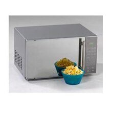 0.8 Cu. Ft. Microwave Oven (Over boxed) with Mirror Door