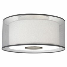 Saturnia 2 Light Flush Mount