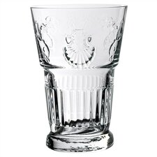 LaRochere 14 Ounce Glass in Versaillies Motif (Set of 6)