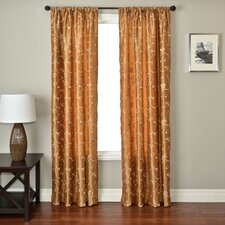 Athena Rod Pocket Curtain Single Panel