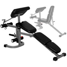 FID Weight Bench with Arm Curl and Leg Developer