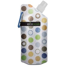16 oz. Eco Oasis Foldable Water Bottle