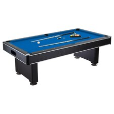 Hustler 8' Pool Table & Accessories