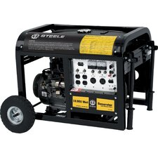 10,000 Watt Electric Start Generator with Mobility Cart