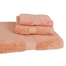 All American Bath Cotton Line Towel (Set of 3)