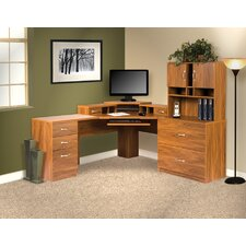 Office Adaptations Corner Desk Office Suite