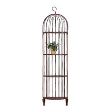 Iron Birdcage Shelf