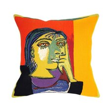Dora Maar Tapestry Cotton Twill Pillow